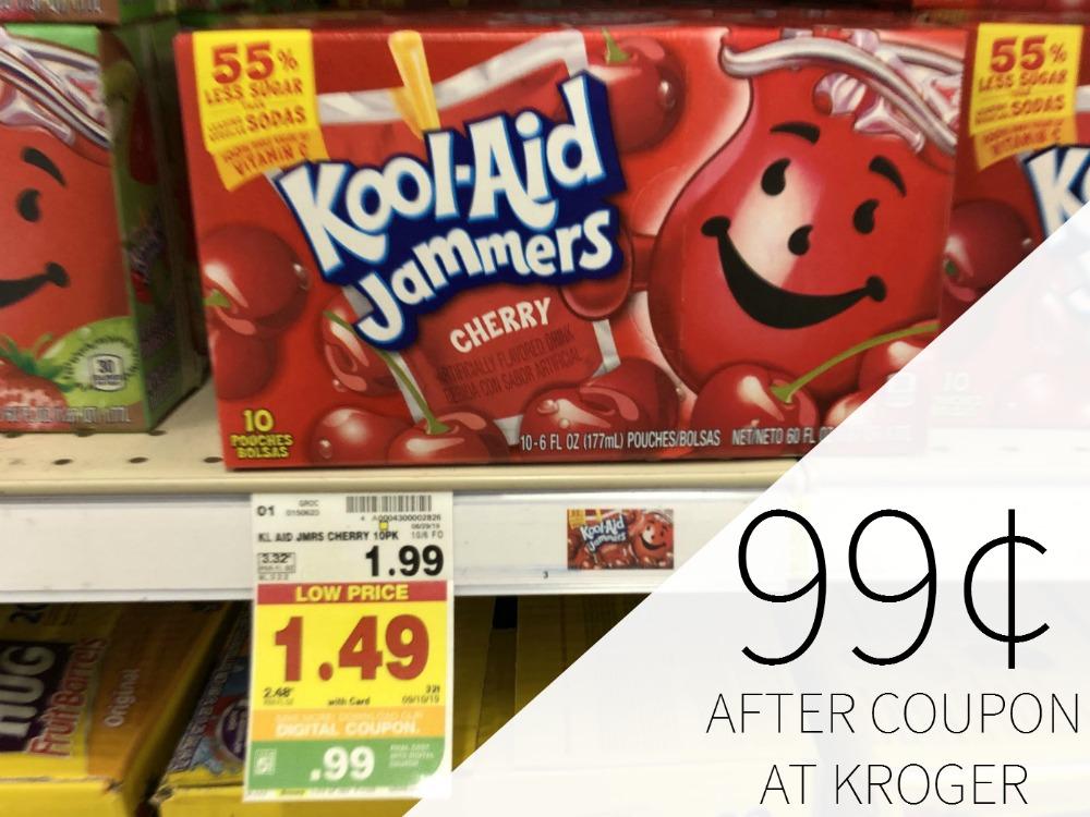 Kool-Aid Jammers Just 99¢ Per Pack At Kroger
