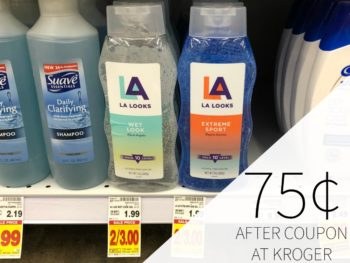 L.A. Looks Hair Gel Just 75¢ At Kroger
