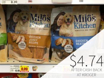 Milo's Kitchen Dog Treats Just $4.74 At Kroger