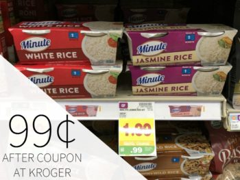 Minute Ready To Serve Rice Just 99¢ At Kroger
