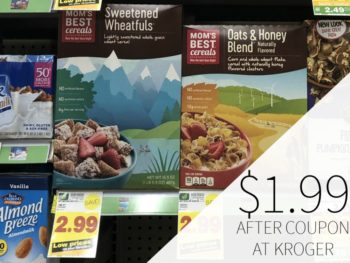 New Cereal Coupons - Mom's Best Cereal Just $1.99 At Kroger