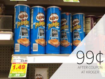 graphic relating to Pringles Printable Coupons referred to as Pringles coupon I Center Kroger