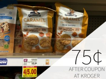 Quaker Rice Crisps Just 75¢ Per Bag At Kroger