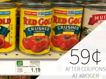 Red Gold Canned Tomatoes As Low As 69¢ Each At Kroger 1