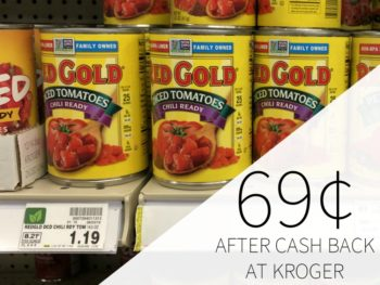 Red Gold Canned Tomatoes As Low As 69¢ Each At Kroger