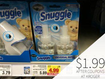 Renuzit Snuggle Oil Just $1.99 At Kroger