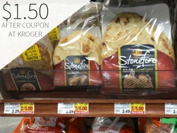 Stonefire Naan Just $1.50 At Kroger