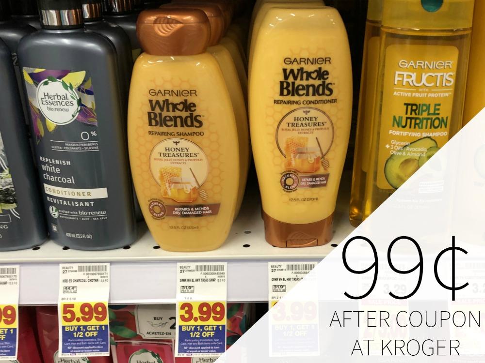 Garnier Whole Blends Haircare Just 99¢ Each At Kroger