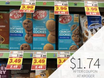 Enjoy Life Cookies Just $1.74 At Kroger