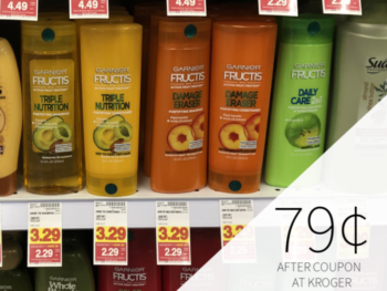 Garnier Fructis Hair Care - 79¢ Per Bottle At Kroger 1