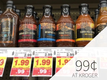 Private Selection BBQ Sauce Just 99¢ At Kroger