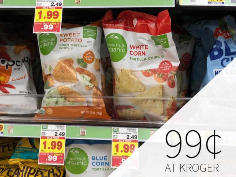 Simple Truth Chips - 99¢ During The Kroger Mega Sale