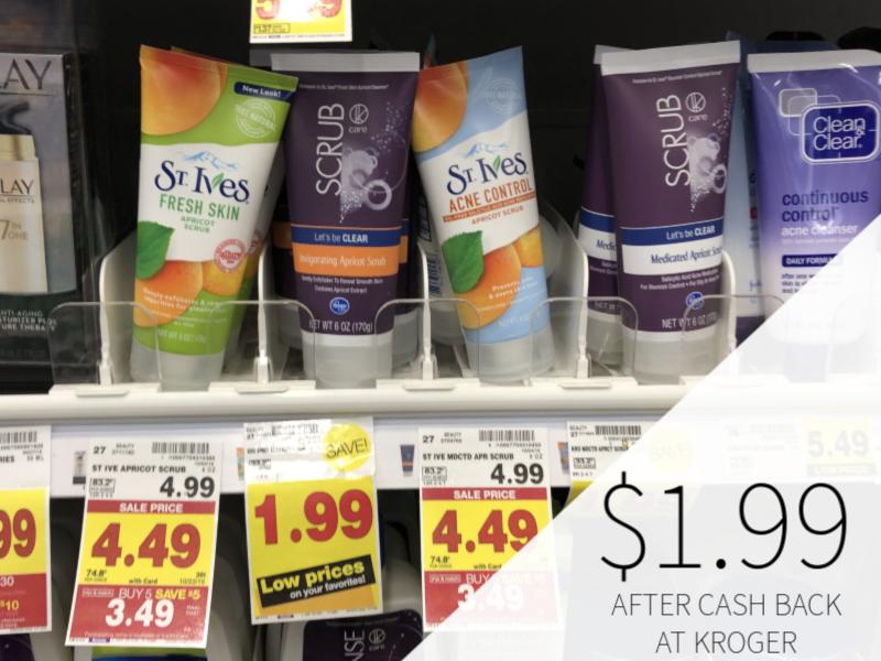 St. Ives Products Just $1.99 During The Kroger Mega Sale 1