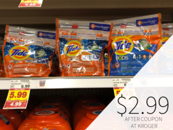 Tide Pods Just $2.99 During The Kroger Mega Sale 1