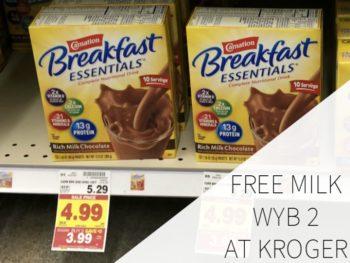 Carnation Breakfast Essentials Just $3.99 At Kroger (Plus Get FREE Milk With Purchase!)