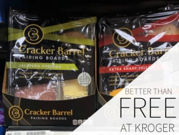 Save On Cracker Barrel Cheese Products During The Kroger Mega Sale