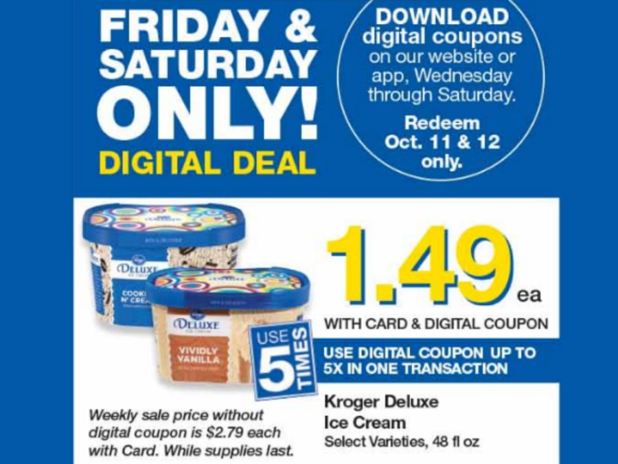 Load Your Coupons For The 2 Days Of Digital Deals (Valid 10/11 & 10/12)