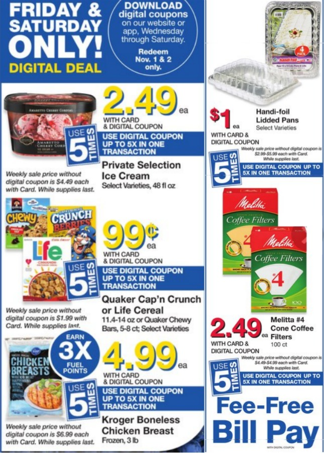 Load Your Coupons For The 2 Days Of Digital Deals (Valid 10/25 & 10/26) 1