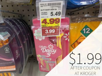 Gillette Disposable Razors As Low As $1.99 During The Kroger Mega Sale