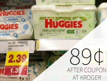 Huggies Wipes Just 89¢ During The Kroger Mega Sale