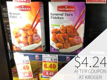 New Innovasian Coupon - Entrees Just $4.24 Each At Kroger