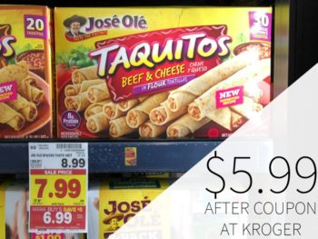 Jose Ole Taquitos Just $5.99 At Kroger