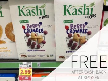 Kashi Kids Cereal FREE At Kroger