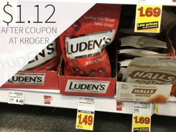 Luden's Throat Drops Just $1.12 Each At Kroger