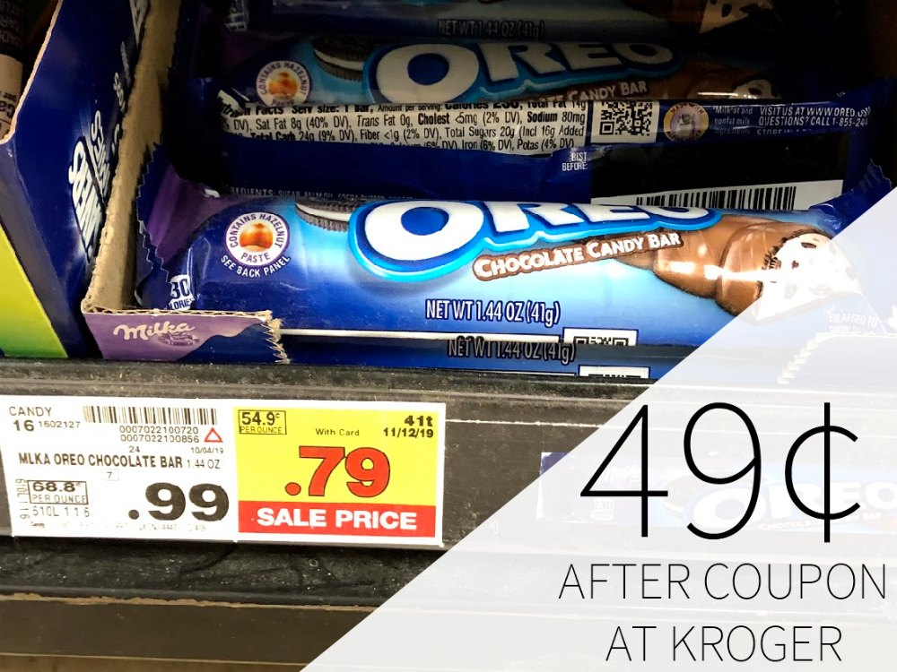 Milka Oreo Bars - 49¢ Each At Kroger