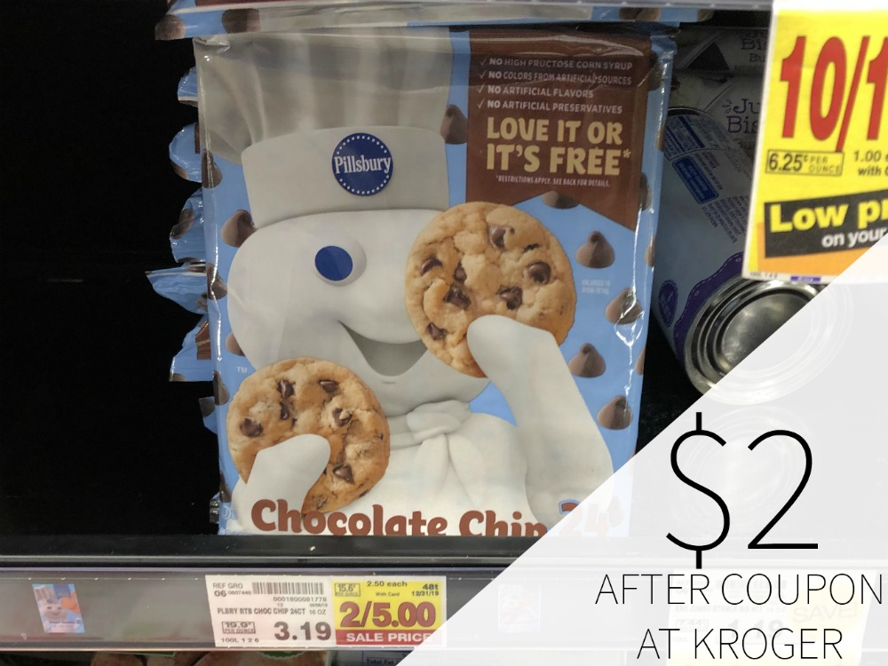 Pillsbury Ready To Bake! Cookies Just  At Kroger