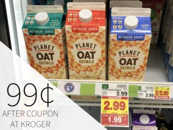 Planet Oat Oatmilk Just 99¢ During The Kroger Mega Sale