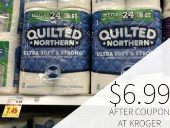 Quilted Northern Bath Tissue Just $6.99 At Kroger