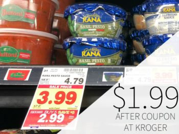 Rana Basil Pesto Sauce Just $1.99 At Kroger