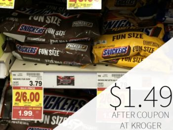 Grab A Great Deal On Candy At Kroger - Bags As Low As $1.49 Each