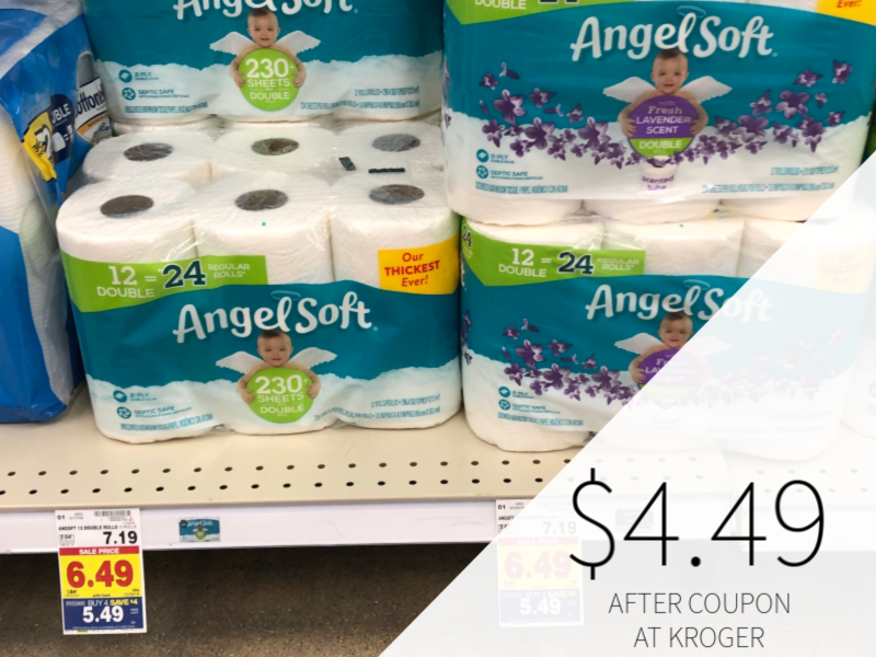 Angel Soft Toilet Paper Just