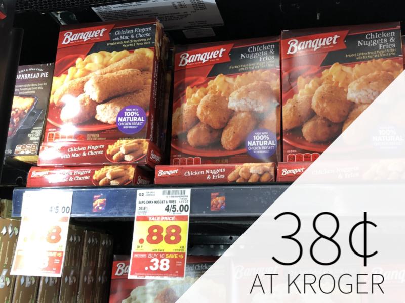 Banquet Pot Pies Just 38¢ At Kroger