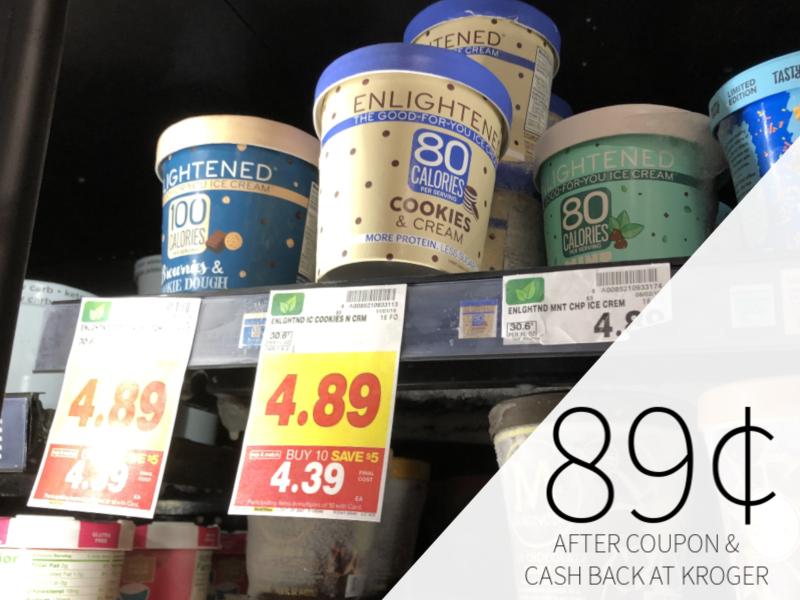 Enlightened Ice Cream Just 89¢ At Kroger