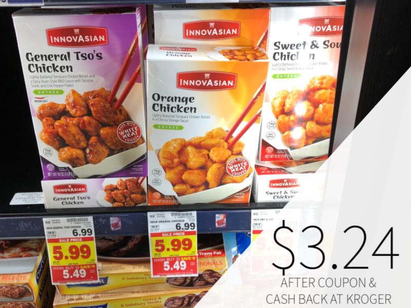 InnovAsian Frozen Meals Only $3.24 At Kroger