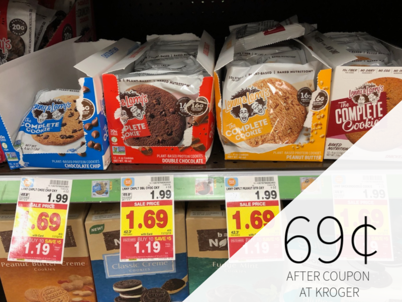 Lenny & Larry's Complete Cookie Just 69¢ At Kroger