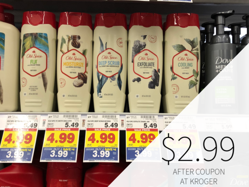 Old Spice Products Just $2.99 At Kroger