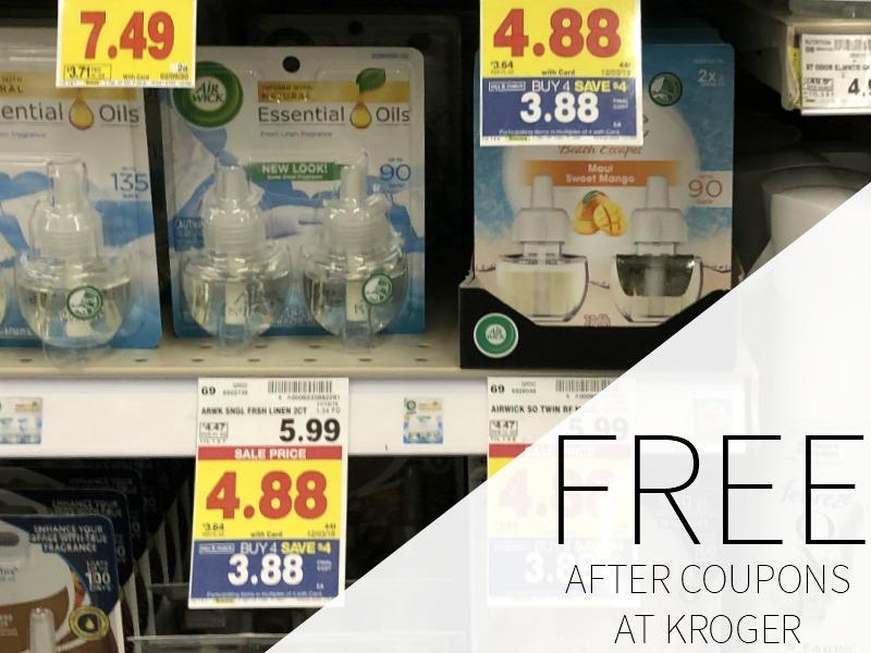 Air Wick Freshmatic Refill FREE At Kroger