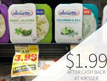 Alouette Cheese Just $1.99 At Kroger