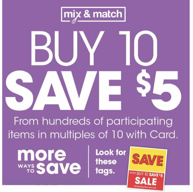 Kroger Ad & Coupons Week Of 11/6 to 11/12 - New Buy 10 Save $5 Mega Sale!