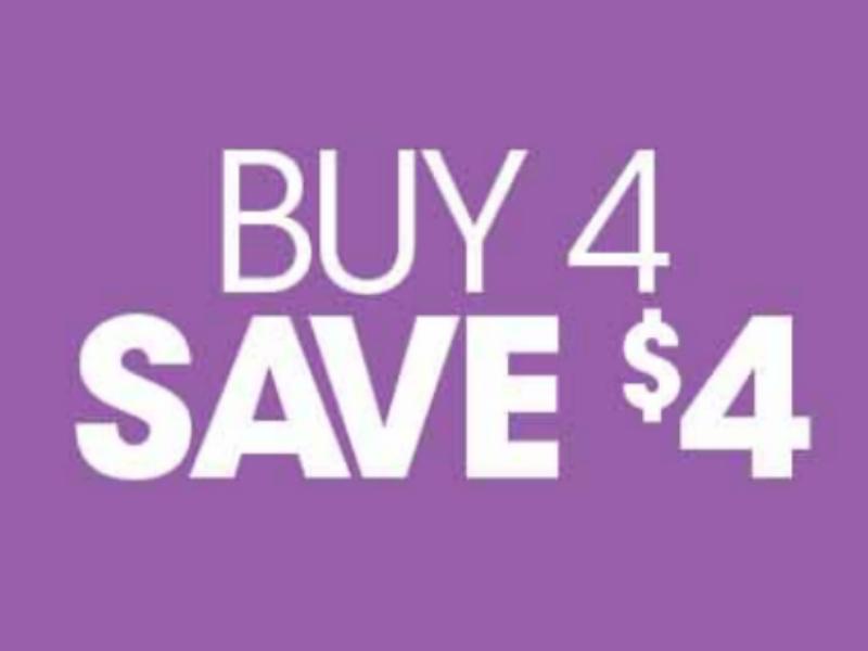 Kroger What A Deal! Buy 4, Save $4 Mega Sale Full Inclusion List (Valid 11/20 - 12/3)