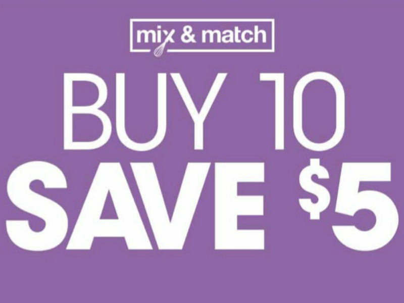 Kroger What A Deal! Buy 10, Save $5 Mega Sale Full Inclusion List (Valid 11/6 - 11/12)