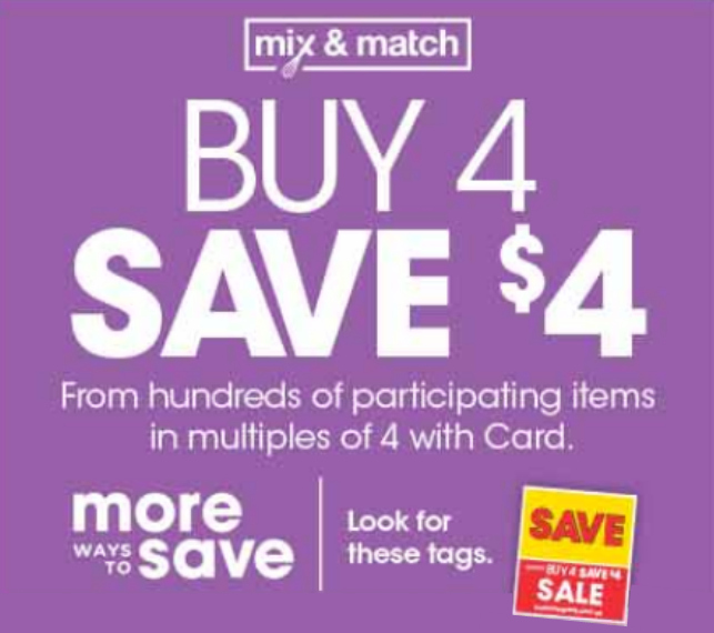 Kroger Ad & Coupons Week Of 11/20 to 11/28 - New Buy 4 Save $4 Sale