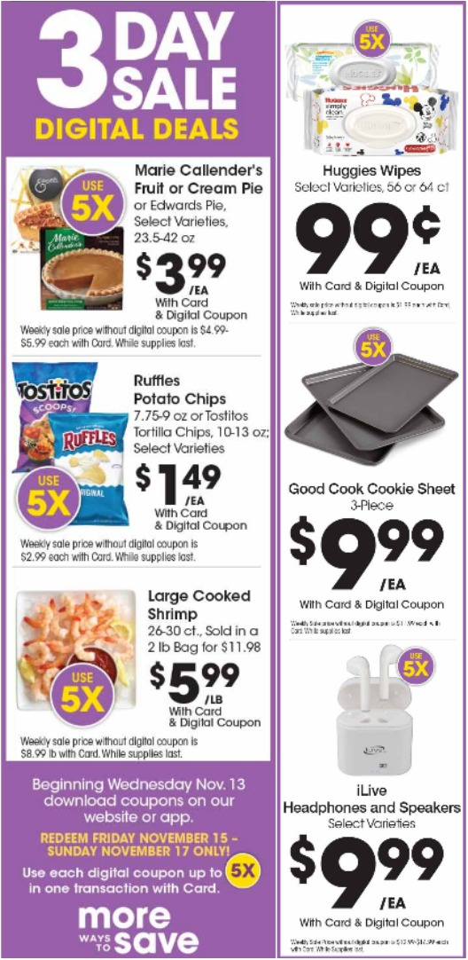 Load Your Coupons For The 3 Days Of Digital Deals (Valid 11/8 to 11/10) 2