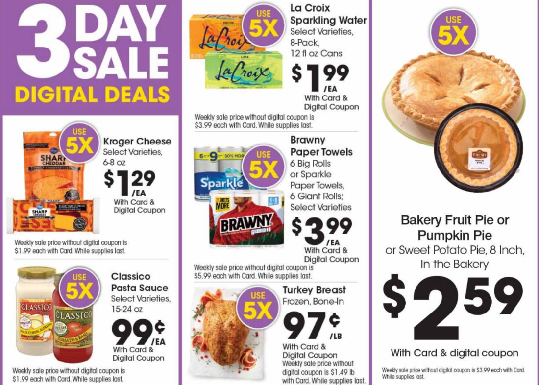 Load Your Coupons For The 3 Days Of Digital Deals (Valid 11/8 to 11/10) 1