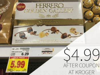 Ferrero Golden Gallery Just $4.99 At Kroger
