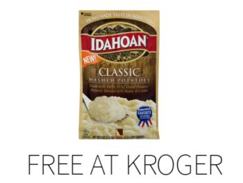 Kroger Free Friday Download - Free Idahoan Mashed Potatoes 1